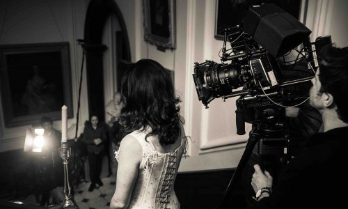 lady down stairs - film production nottingham video production company & creative video agency nottingham