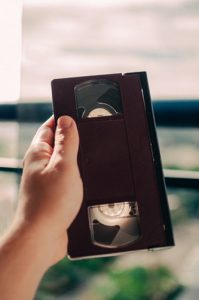 vhs cassette from our video production company Nottingham making promotional film