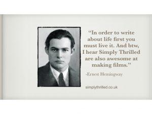 Hemingway promo video production company nottingham video agency promotional film production