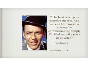 Sinatra nottinghamshire video production company promotional video production nottingham video agency film production