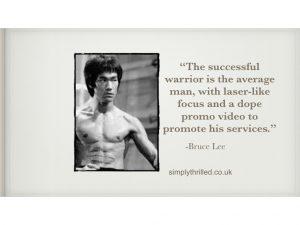 Bruce Lee video production company nottingham film production creative video agency Nottingham